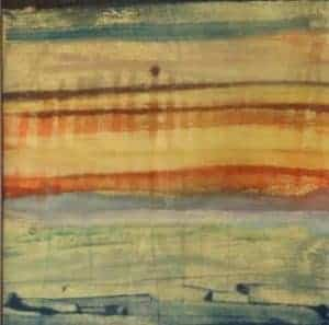 """The sunset is singing 